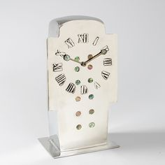 Macklowe Gallery is the world's premier dealer of museum-quality Twentieth Century Decorative Arts, Furniture and Jewelry. Clock Art, Clocks, Archibald Knox, Holiday Jewelry, Roman Numerals, French Art, Columns, Pewter, Art Decor