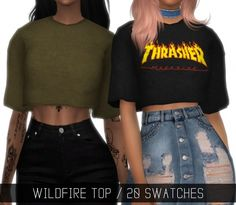 WILDFIRE TOP at Simpliciaty