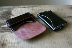 Corter Leather — Standard Card Wallet- Shell Cordovan