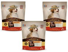 (3 Pack) Pampered Pet Treats 8oz - Cowboy Classic Flavor - All Natural Oven-Baked Dog Treats ** Find out more details by clicking the image : Dog treats