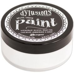 DR Dylusions Acrylic Paint White Linen