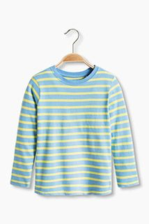 Esprit / Striped long sleeve top in organic cotton Long Sleeve Tops, Long Sleeve Shirts, Man Child, Organic Cotton, Fashion Accessories, Mens Fashion, Children, Clothes, Shopping