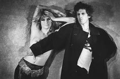 Patti Hansen and Keith Richards by Peter Lindbergh