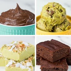 Avocado Desserts 4 Ways by Tasty