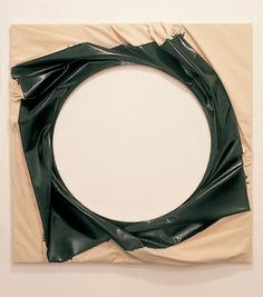 """Spin-out Vortex"" by Steven Parrino, 2000"