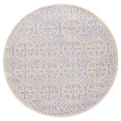 Marlton Textured Rug - Lavender / Ivory - (6' X 6' Round) - Safavieh, Purple/Ivory