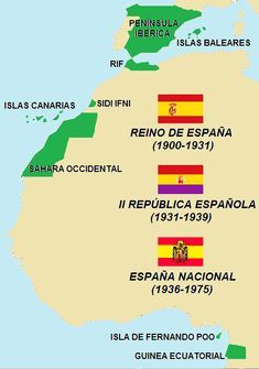 Morocco, Infographic, Spanish, Empire, History, Maps, War, Alternate History, Cartography