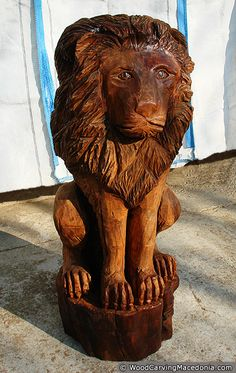 Chainsaw Wood Carvings | Wood Carving Works - Photo Gallery 3: Chainsaw wood carvings, wooden ...