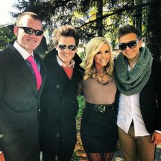 """""""Wedding with Jono Smith, Charis Dakota Grimm, & Joey Stamper."""" -Caleb Grimm    Joey: """"Weddings are fun! :) Beautiful ceremony... Now point me to the dance floor so I can make a fool of myself!"""""""