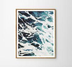 Sea print Beach art Sky Nature Modern art Wall by WallArt2Decor
