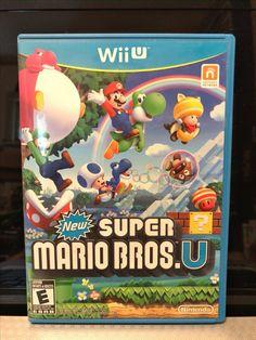 Nintendo Wii U New super Mario Bros. U