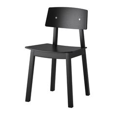 IKEA - SIGURD, Chair, You sit comfortably thanks to the shaped back and scooped seat.The clear-lacquered surface is easy to wipe clean.
