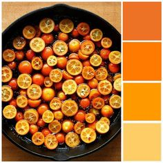 Orange & yellow color scheme