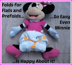 A Collection of Easy Ways to Fold Cloth Diaper Flats and Prefolds