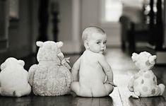 Fotos de bebés con peluches / Fotos de bebês com ursinhos de pelúcia