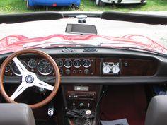 124 Spider Cockpit