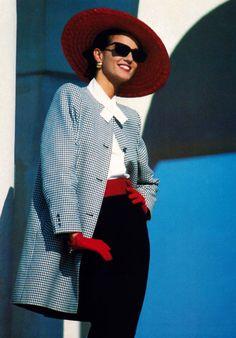 Alexon, American Vogue, December 1987.