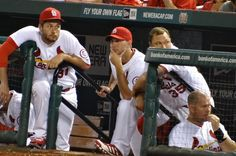 Not sure what Waino was looking at, or thinking.