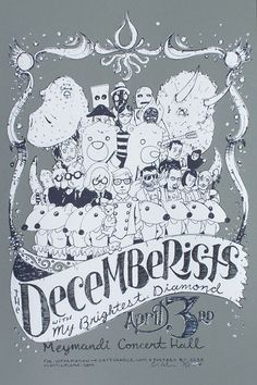 decemberists poster