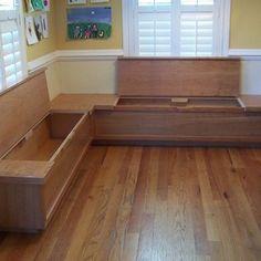 bench seating in kitchn spaces kitchen nook designstorage in bench seating. Interior Design Ideas. Home Design Ideas