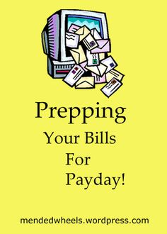 Why wait until the last minute to pay your bills?  Get them done and out of the way so you don't have to worry about them later!