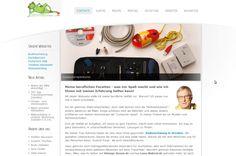 Webseite mit Joomla 2,5 erstellt über meine beruflichen Facetten http://gunterhellmann.de/