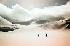 Turtle Flats, Harvard Glacier, Chugach Range, Alaska