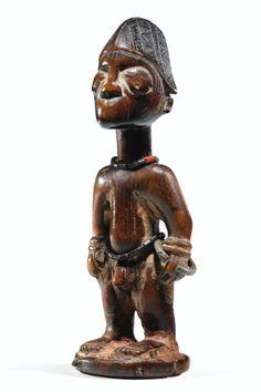 Statuette <em>ibeji</em>, Yoruba, Nigeria | lot | Sotheby's