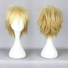 New Short  Noragami-Yukine Cosplay Anime Wig + Wig cap