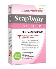 Two ways to save on scaraway coupon code scar5 for 5 off sheets or scaraway c section scar treatment strips 7 x 15 4 ct fandeluxe Images