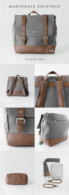 backpack/diaper bag that's stylish and comfortable