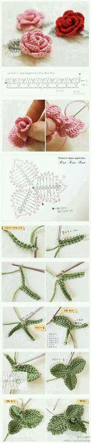 Mi baúl de Inspiraciones : Flores con diagramas