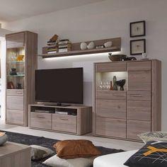 Wohnwand Ravenna Wohnzimmerschrank Anbauwand Eiche Nelson 20679 Aus Der Serie Vom Hersteller MCA Furniture Die Mbel DemProgramm