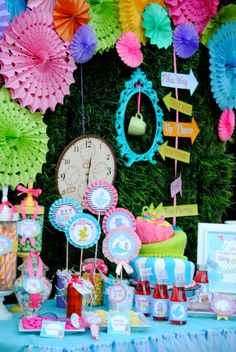 ALICE in Wonderland BOTTLE Labels Party by KROWNKREATIONS, $3,00