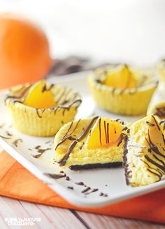 Try this Chocolate Orange Mini Cheesecakes recipe from our baking ambassador @bubblynature