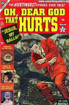Classic Comics III.  For some reason this one makes me laugh out loud every time I see it.