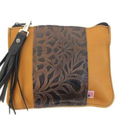This simple, sophisticated clutch is handcrafted in Italian leather with a botanical paisley design. Leather Clutch Purse for Women: Made in USA. Get it here: http://www.copperriverbags.com/berkeley-leather-clutch-sunrise-and-vertical-brown-paisley-made-in-the-u-s-a/