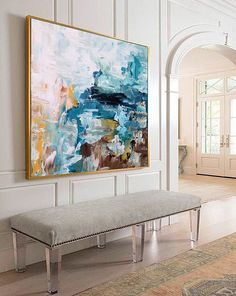 hand painted large original painting abstract art acrylic painting