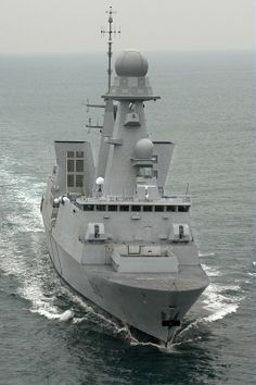 French Marine Nationale Horizon class anti aircraft frigate FS Forbin.(D 620).