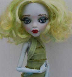 OOAK Custom Monster High MH Art Doll - Lagoona Blue Repaint | eBay