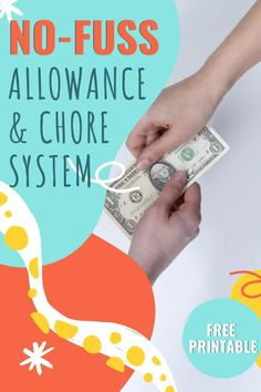 Is a chore chart for you? If so, use this free printable no-fuss chore and allowance system to save your family loads of time every week. Chore Chart Teenagers, Teen Chore Chart, Family Chore Charts, Printable Chore Chart, Allowance Chart, Chores And Allowance, Allowance For Kids, Teenage Chores, Chores For Kids By Age