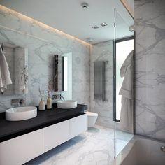 BUUN MOTTO ARCHITECTS - ATLAS TERAS  | Mersin | Turkey   : modern tarz Banyo