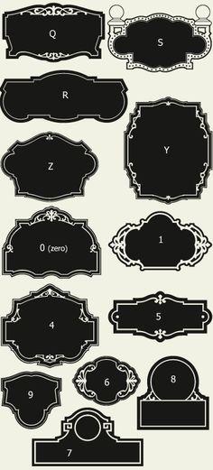 Letterhead Fonts / LHF Broadway Panels 2 / Golden Era Studios Panels
