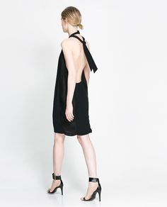 BACKLESS DRESS - Dresses - Woman - New collection | ZARA United States