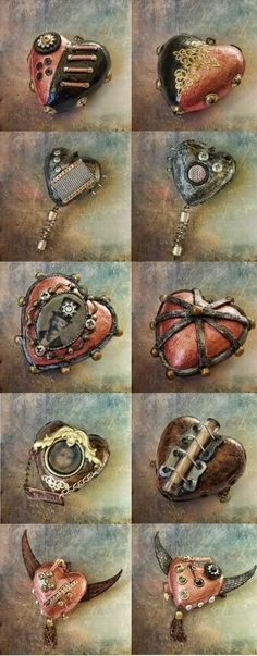 Steam-punk Hearts