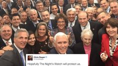 20 hilarious reactions to Mike Pence's selfie-stick photo of the GOP. | Politics | Someecards