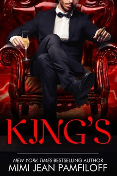 Cover for KING'S, book 1 of the King Trilogy, by Mimi Jean Pamfiloff