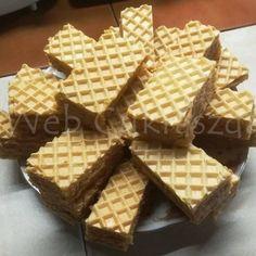Duna hullám Cream Cheese Flan, Condensed Milk Cake, Waffles, Food And Drink, Breakfast, Dios, Morning Coffee, Waffle