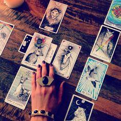 Desert Sunset Ring  - tarot card reading *