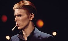 """Space has been a reoccurring theme for Bowie in both his music and persona. Major Tom, the fictional astronaut of """"Space Oddity"""" begat Bowie's first . David Bowie Golden Years, The Golden Years, Mick Jagger, Brixton, Glam Rock, David Bowie Young, New York City, Berlin, Station To Station"""